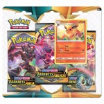 Pokemon - TCG - Sword & Shield Darkness Ablaze Three-Booster Blister (Assorted) - Packshot 2