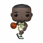 NBA Legends - Shawn Kemp in Supersonics Home Colours Pop! Vinyl Figure - Packshot 1
