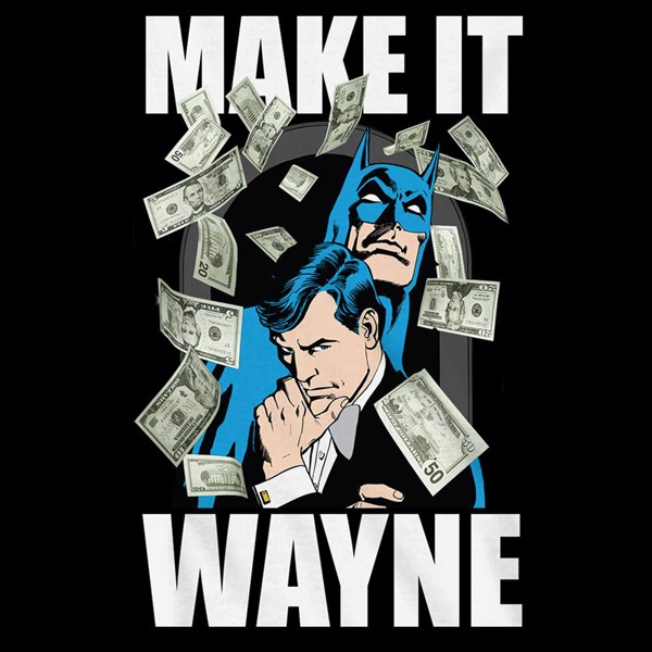 DC Comics - Batman Make It Wayne T-Shirt - XS - Packshot 2