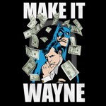 DC Comics - Batman Make It Wayne T-Shirt - Packshot 2
