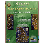 Steam: Rails to Riches Board Game - Map Expansion #2 - Packshot 1