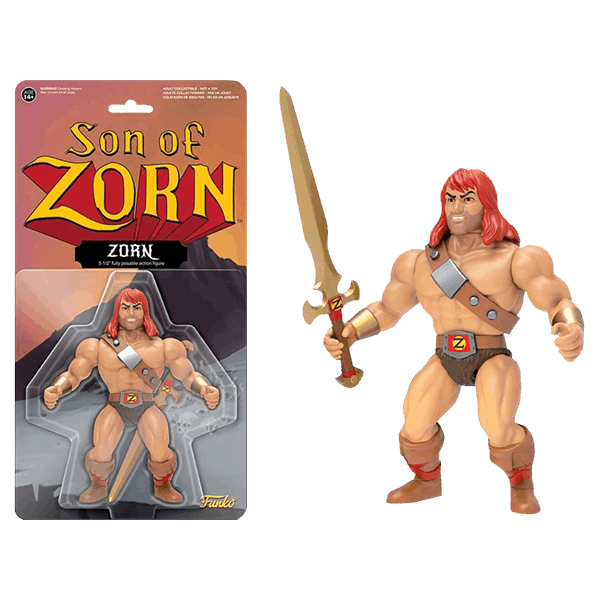 "Son of Zorn - Zorn 6"" Action Figure - Packshot 1"
