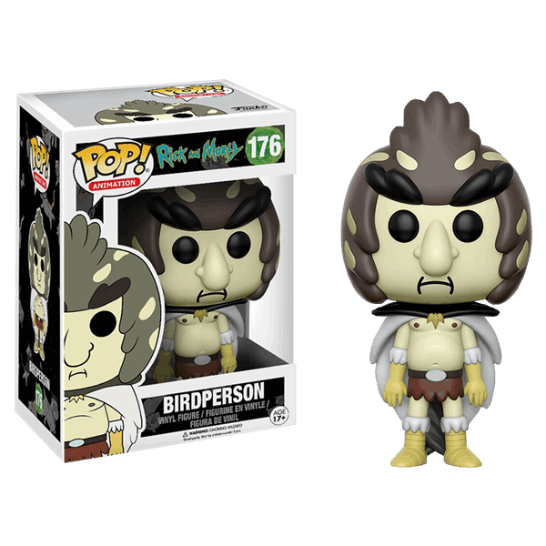 Rick and Morty - Birdperson Pop! Vinyl Figure - Packshot 1