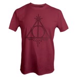 Harry Potter - Deathly Hallows Red T-shirt - XS - Packshot 1