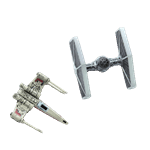 Star Wars - X-Wing & TIE Fighter Magnet Set - Packshot 1