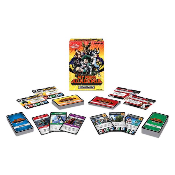 My Hero Academia The Card Game - Packshot 2