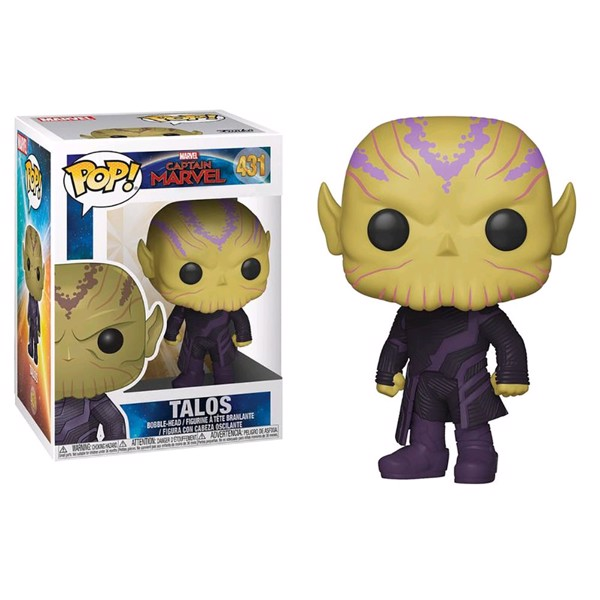Marvel - Captain Marvel - Talos Pop! Vinyl Figure - Packshot 1