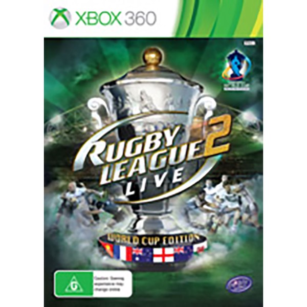 Rugby League Live 2 - World Cup Edition - Packshot 1