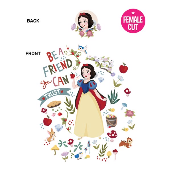 Disney - Snow White T-Shirt - XXL - Packshot 2