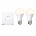 Philips Hue White Starter Kit 9W A60 E27 - Packshot 1