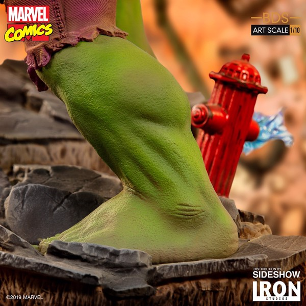 Marvel - Hulk 1/10 Scale Statue - Packshot 4