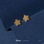 Disney - Mulan - Sakura Short Story Gold Stud Earrings - Packshot 2