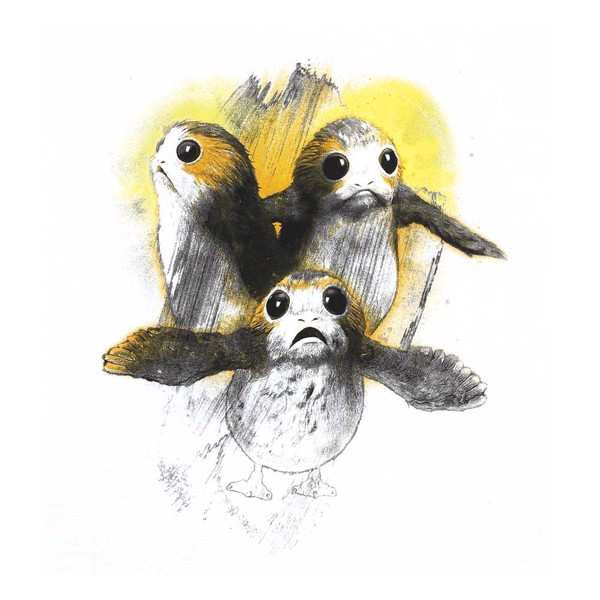 Star Wars - Porgs T-Shirt - Packshot 2