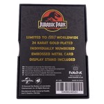 Jurassic Park - 24k gold plated Welcome Gates - Packshot 4