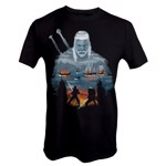 The Witcher - Geralt and Eredin T-Shirt - Packshot 1