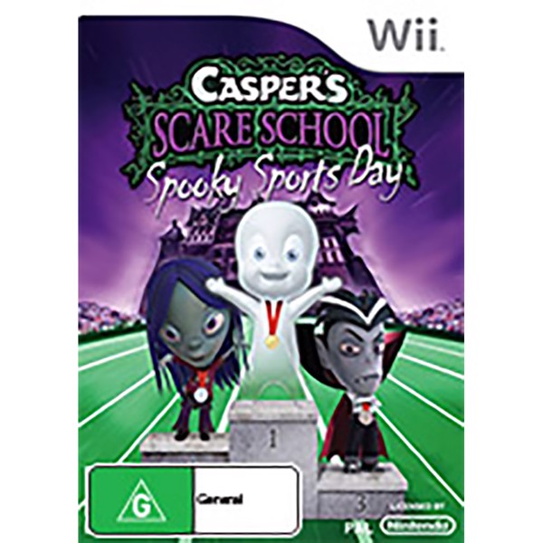 Casper's Scare School: Spooky Sports Day - Packshot 1