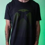 Xbox Dot Grid Glow in The Dark T-Shirt - Packshot 3