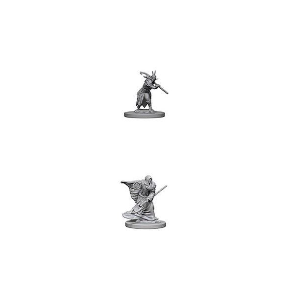 Dungeons & Dragons - Nolzur's Marvelous Miniatures - Elf Male Druid - Packshot 1