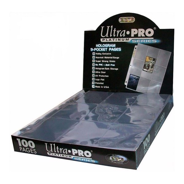 Ultra-Pro Platinum 9-Pocket Hologram Page box (100 pages) - Packshot 1
