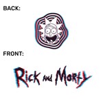 Rick and Morty - Face 3D T-Shirt - Packshot 3
