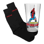 Marvel - Spider-Man: Homecoming - Glass & Socks Gift Pack - Packshot 1