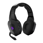 Stealth Nighthawk Wireless Black Headset - Packshot 2