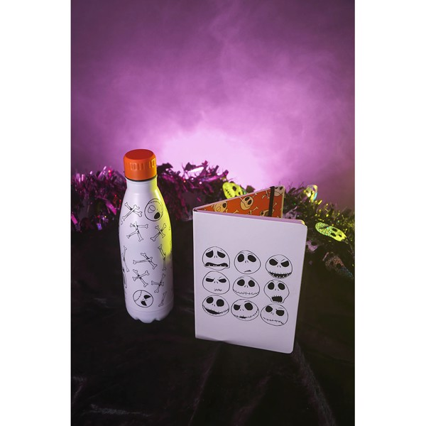 Disney - The Nightmare Before Christmas - Jack Face Stainless Steel Water Bottle - Packshot 2
