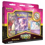 Pokemon - TCG - Hidden Fates Mewtwo or Mew Pin Collection - Packshot 1