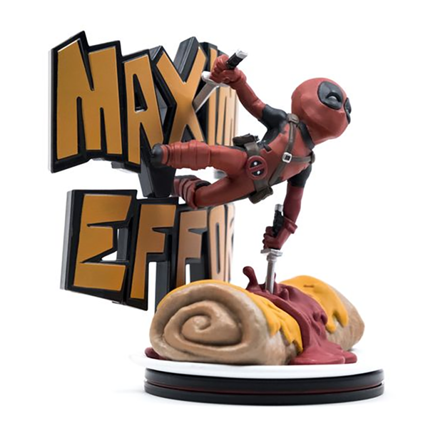 Marvel - Deadpool Maximum Effort Q-Fig Diorama - Packshot 2