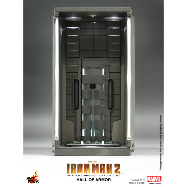 Marvel - Iron Man 3 - Hall of Armor (Single Piece) Diorama - Packshot 1