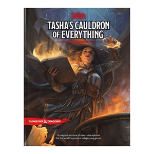Dungeons and Dragons - Tasha's Cauldron of Everything Book