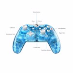 Xbox One Rock Candy Wired Controller - Blu-merang - Packshot 4