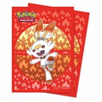 Pokemon - TCG - Scorbunny 65-Count Ultra Pro Deck Protector Sleeves - Packshot 1