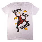 Marvel - Deadpool Tacos White T-Shirt - Packshot 1