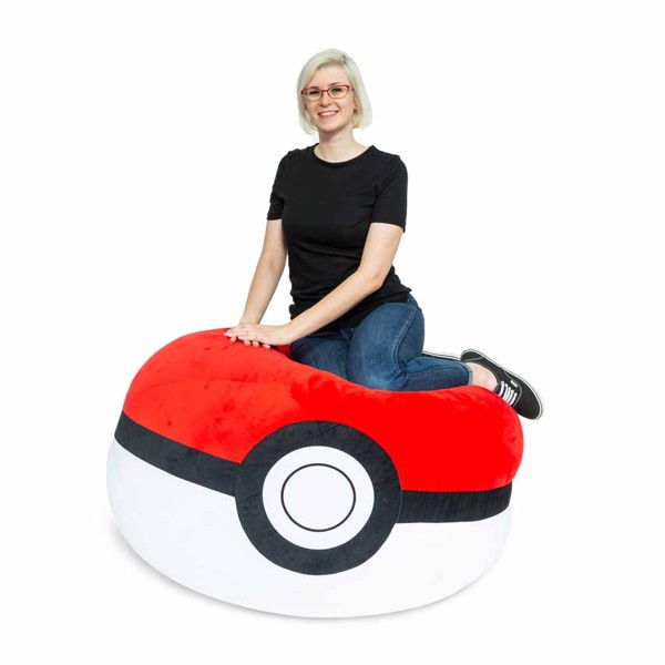 Pokemon - Poke Ball Bean Bag Chair - Packshot 2