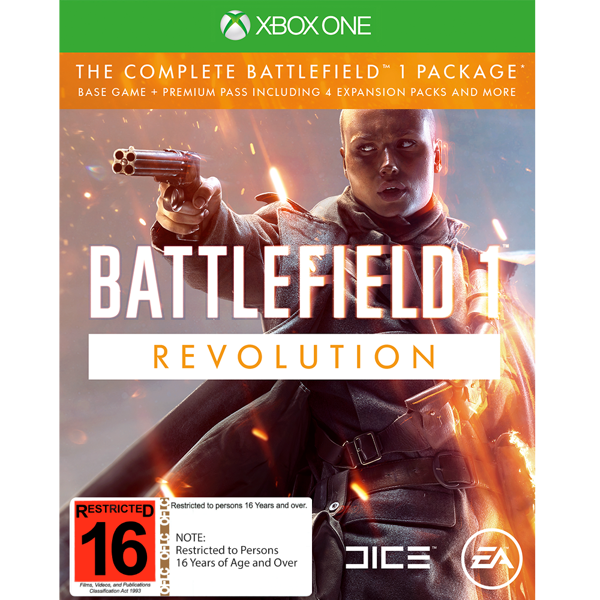 Battlefield 1: Revolution - Packshot 1