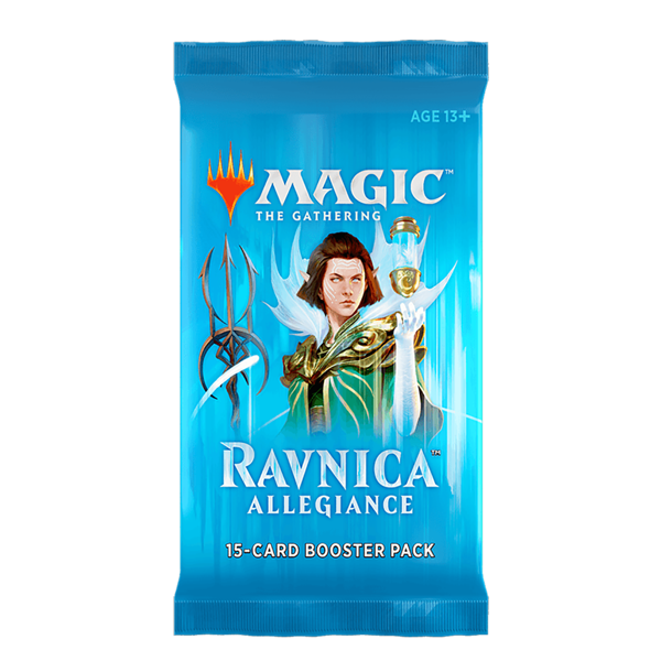 Magic the Gathering - TCG - Ravnica Allegiance Booster Pack - Packshot 1