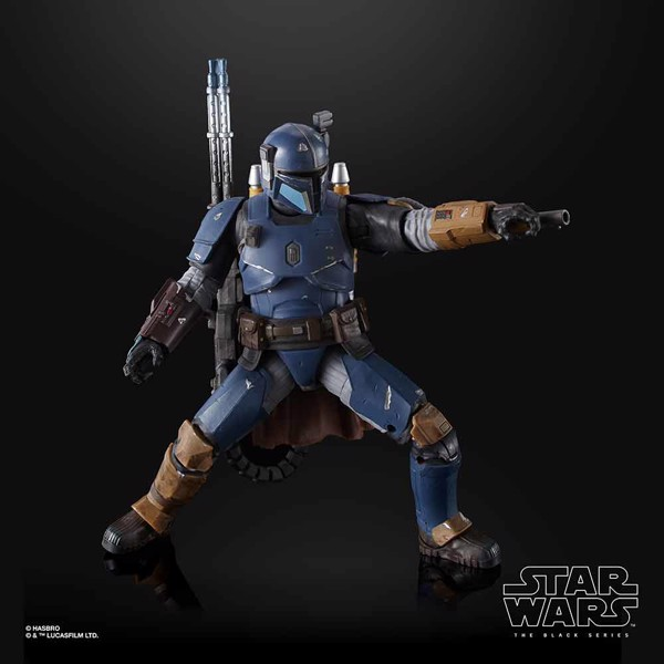"Star Wars - The Black Series Heavy Infantry Mandalorian 6"" Action Figure - Packshot 5"