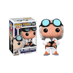 Back to the Future - Dr Emmet Brown Pop! Vinyl Figure - Packshot 1