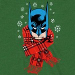 DC Comics - Batman Scarf Christmas T-Shirt - XXL - Packshot 2