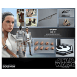 Star Wars - Episode VII - Rey (Resistance Outfit) 1/6 Scale Hot Toys Figure - Packshot 4