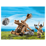 How to Train Your Dragon - Gobber with Catapult PlayMobil Construction Set - Packshot 2