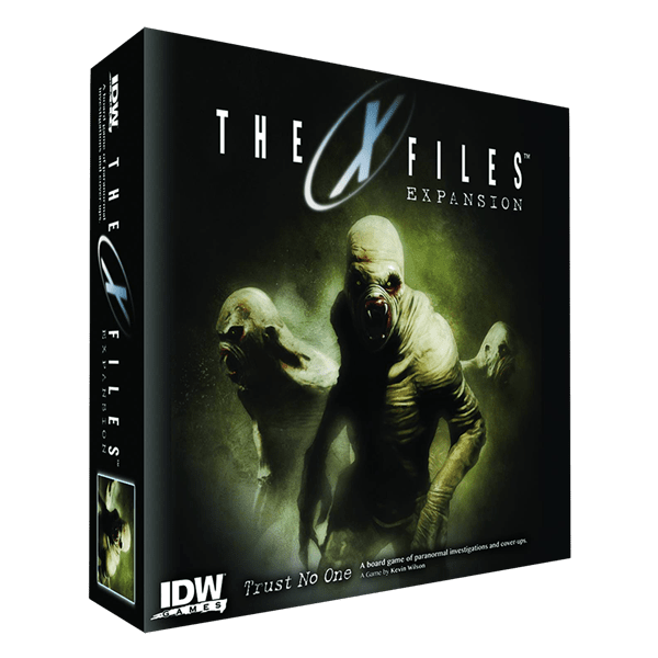 The X Files - The Game Trust No One Expansion - Packshot 1