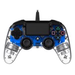 Nacon PS4 Illuminated Wired Gaming Controller - Light Blue - Packshot 1