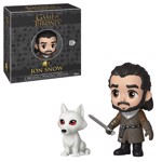 Game of Thrones - Jon Snow with Ghost 5-Star Vinyl Figure - Packshot 1