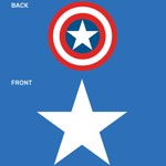 Marvel - Avengers - Captain America Shield Kids T-Shirt - Packshot 2