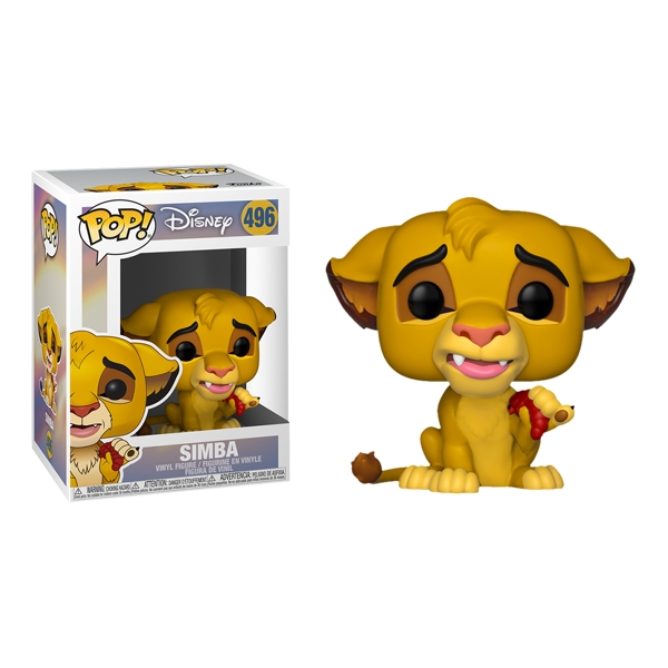 Disney - The Lion King - Simba with Grub Pop! Vinyl Figure - Packshot 1