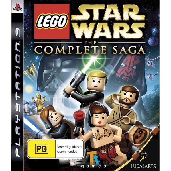 Lego Star Wars: The Complete Saga - Packshot 1