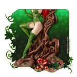 Batman - Poison Ivy on Vine Throne with Killer Flower Statue - Packshot 5