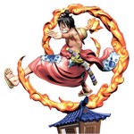 One Piece - Wano Country - Re:Birth Ver. 1 Luffy Logbox Figure (Single Box) - Packshot 2